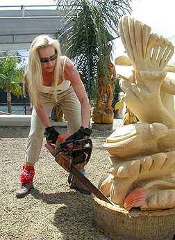 Pin Mermaid Chainsaw Carving on Pinterest